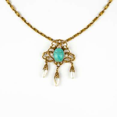 Egyptian Revival pendant